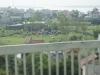 ベトナムの田園地帯の墓地