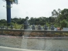 ベトナムの墓石展示場