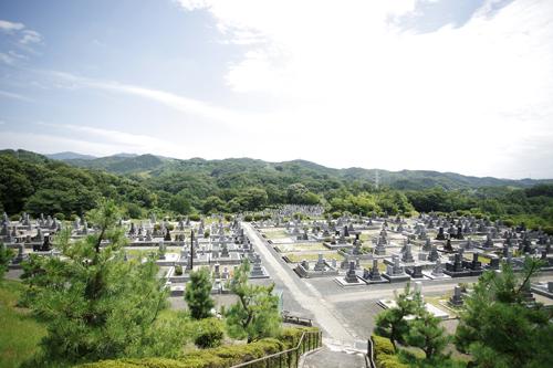 豊田市・古瀬間墓地
