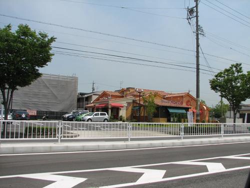 近所のイタリア料理チェーン店
